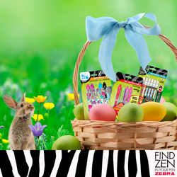 PENS AND PENCILS HOP INTO THE EASTER BASKET - Zebra Pen