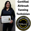 Retired NYC Police Detective Opens Her Spray Tanning Business After Training at The Hollywood Airbrush Tanning Academy