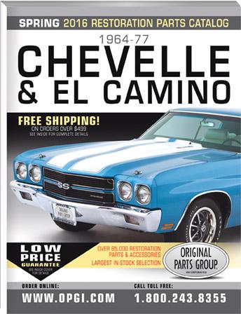 2016 Edition 1964 77 Chevelle El Camino Malibu