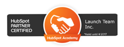 Launch Team Certified HubSpot Partner