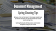 "DATAMARK Releases Document Management ""Spring Cleaning"" Infographic"