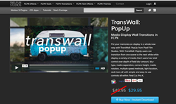 FCPX Transitions - Pixel Film Studios - TransWall Pop Up