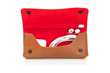 Atelier iPad Gear Case—interior view with contents