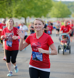 Happy runner from 2015 race