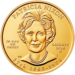 Pat Nixon First Spouse Gold Coin