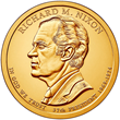 Richard Nixon Presidential $1 Coin