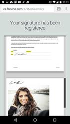 vinesign app sign via text message