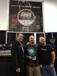 Wayfarer Blend from Crimson Cup Coffee & Tea takes second-place prize at 2016 America's Best Espresso Eastern Championships