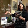 Joyce posed for an in office photo with an issue of Sacramento Magazine. 3-Year Winner!