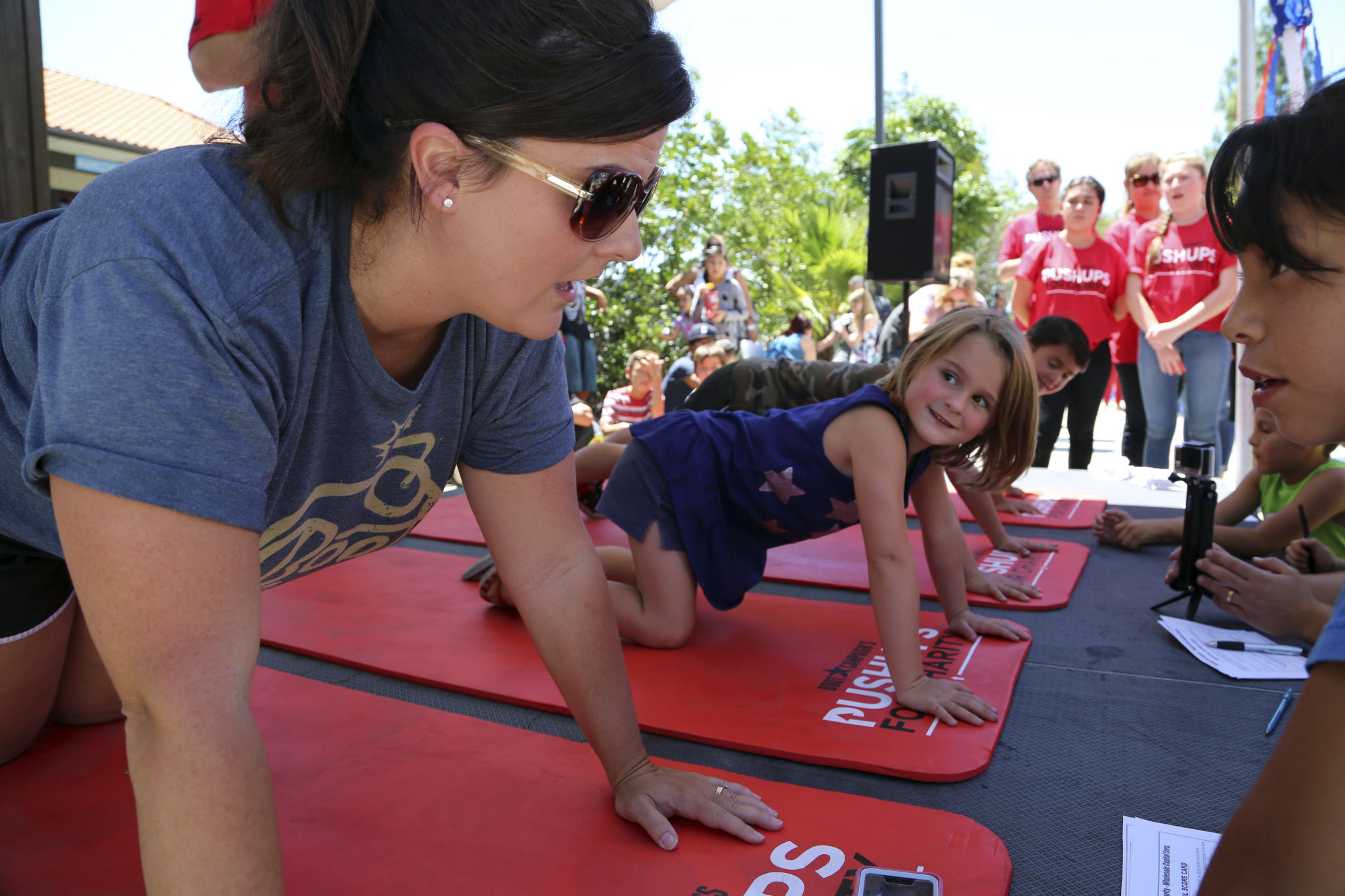Boot Campaign's Pushups For Charity Kicks Off on Armed ...