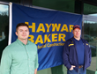 Brian Eastman, P.E. (left) and Ray Smith, Superintendent (right), shown outside Hayward Baker's new office in Middletown, CT. The facility opened in March 2016.