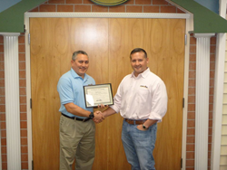 Our Town America Franchisee, John Snyder, & President/CEO, Michael Plummer Jr.
