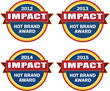 """ZONIN1821 Wines Receive 2015 IMPACT """"HOT BRAND"""" Award, Fourth Year in a Row"""