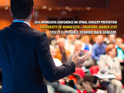 2016 Minnesota Conference on Spinal Surgery Prevention