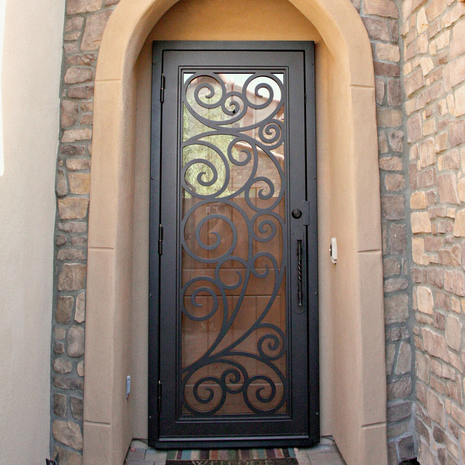 "1500 #956736 Security Doors Announce Affordable New ""DIY Door"" Option image Affordable Security Doors 7531500"