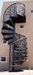 Circular Scroll Iron Stair Railings