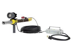 Work Area Nozzle Mount LED Blasting Gun Light