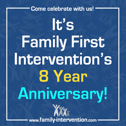 Family First Intervention Celebrates 8th Anniversary