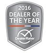 Garavel Chrysler Jeep Dodge Ram of Norwalk Wins 2016 Dealer of the Year Award from DealerRater.com