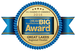Crimson Cup Coffee & Tea is the 2016 Regional Finalist for the DREAM BIG Small Business of the Year Award