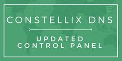 Constellix Updates DNS Control Panel