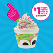 sweetFrog's Instagram post celebrates #1 ranking.