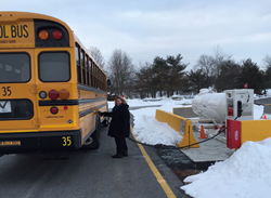 Derry Township School District introduced three new school buses fueled by propane autogas into its fleet for the 2015-16 school year.