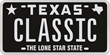 Texas is Back in Black With a New Retro Looking License Plate