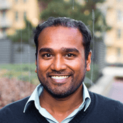 Photo of Ajit Viswanathan, CEO of Heatlhcare Startup Doctible