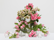 Flowers by Jerry Rose for the Isaac Mizrahi retrospective at The Jewish Museum, New York.