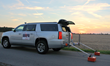 Infrasense, Inc. uses Ground Penetrating Radar to evaluate the pavement structure of 12.8 miles of Interstate I-84 in Idaho.
