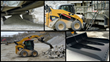 Clean-Up Under Aggregate & Mining Conveyor Systems with Skid Steer Quarry Bucket by Berlon