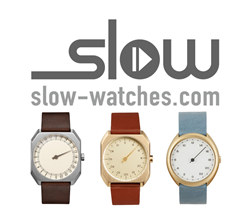 slow watches logo and model line