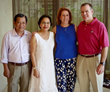 Left to right: Dr. Chanh, Dr. Viet, Ginger H. Robinson, RN, Dr. Randolph C. Robinson