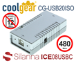 Silanna and CoolGear Debut the World's First Compact USB 2.0 High-speed Isolator Module