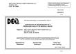 DEQ Certificate