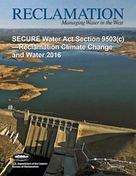2016 SECURE Water Report to Congress report cover.