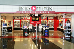 InMotion Entertainment's Store in Chicago O'Hare International Airport