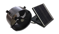 Sol Solutions Today Solar Fan