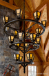 Steel Chandelier by Hammertoe