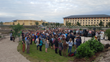 Ave Maria University Event in Prayer Garden