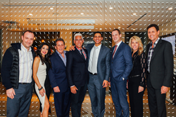 From left to right: Gordon Golub, Leanne Rogan, Stan Richman (Regional Vice President - Beverly Hills), Gene Martinez, Robert Reffkin (CEO), Robert Lehman, Leah Sternberg (Regional Vice President - Pasadena) and Jay Rubenstein (Manager - Malibu)