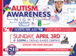 Center for Autism and Related Disorders Teams Up with AHL's Rochester Americans for Autism Awareness Night