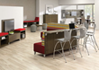 National Office Furniture's Fringe line adds color, depth and fun to the workplace