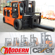 Modern Group Becomes Carer Electric Forklift Trucks Dealer