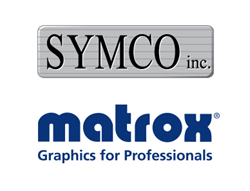 Entire Matrox Graphics product line, with  emphasis on AV-over-IP solutions, available through Symco Inc. in Mid-Atlantic and New  England regions of US.