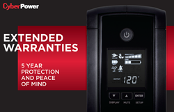 CyberPower Extended Warranties on UPS Systems, UPS Accessories, and PDUs.