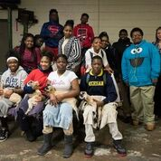 Detroit city middle school students participating in Pingree Farms educational programs.
