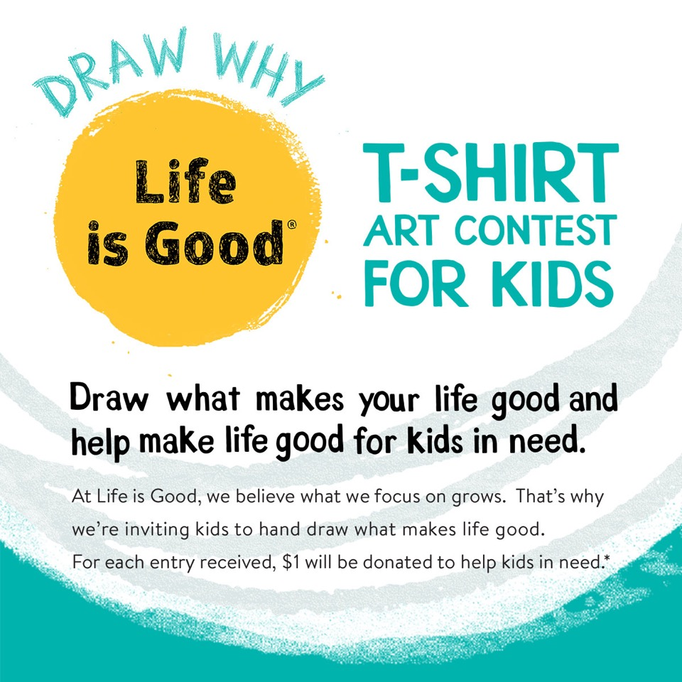 Life Is Good® Inspires Optimism In Kids Through Nationwide