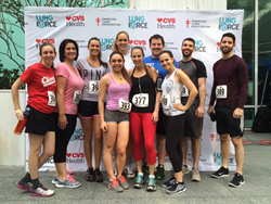 Lung Institute at Fight for Air Climb in Tampa